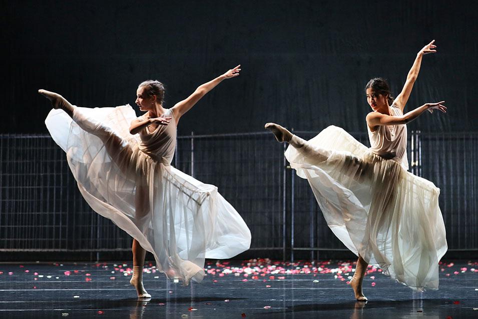 Anna Casasola Fontseca en Sana Sasaki in Pearl (foto Hans Gerritsen)