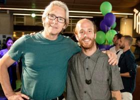 Ed Wubbe met Diego Sinniger de Salas