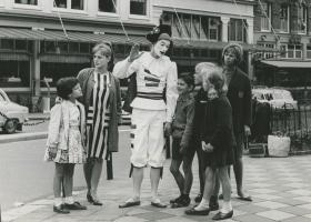 Scapino in Parijs in 1963 - foto Hans van den Busken