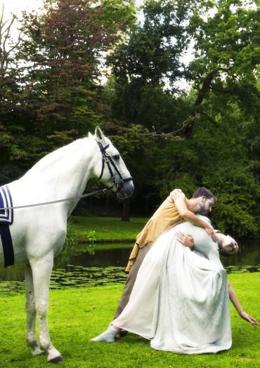 Pearl met paarden in de Ziggo Dome
