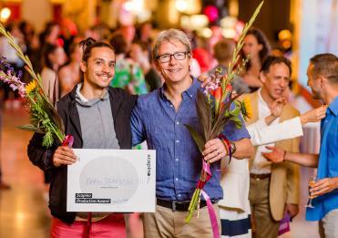 Mario Bermudez Gil wint Scapino Production Award op RIDCC