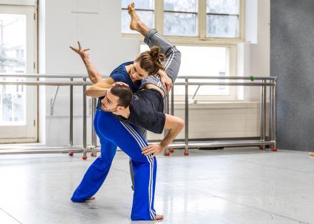 Dalma Doman and Lorenzo Cimarelli - foto Rob Becker