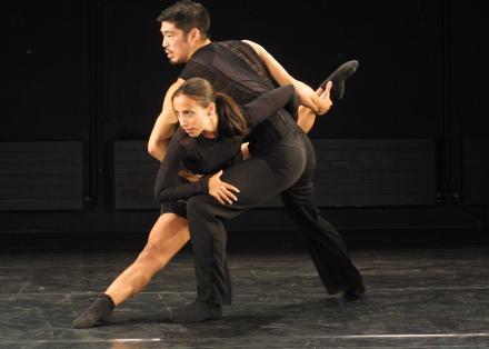 Lighthouse - Choreografie Nanine Linning (op foto dansers Annabel Lopez Ochoa en)
