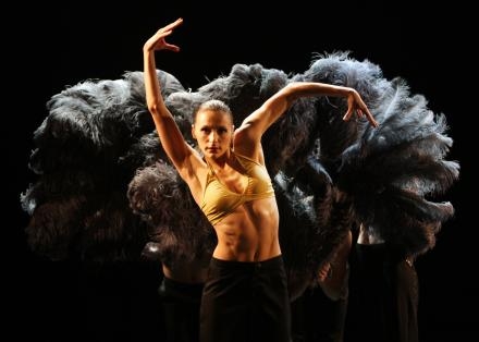 Dancer Leslie Humbert in Supernova by Marco Goecke