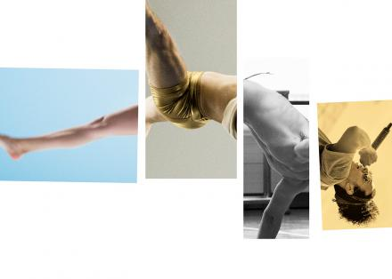 Four rectangles with bodyparts forming a human body as a whole