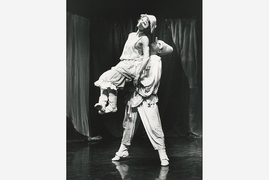 Pulcinella   Choreograaf Nilse Christe (foto Hans Gerritsen)