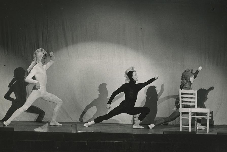 De drie paardjes | choreografie Jan Rebel (fotograaf onbekend)