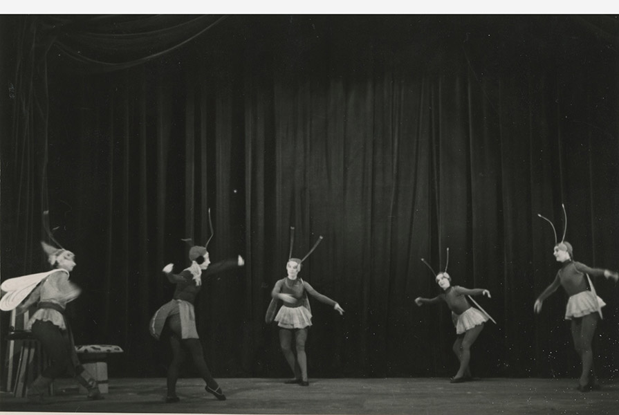 De Krekel en de Mier | choreografie Hans Snoek (fotograaf onbekend)