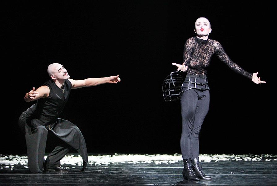 Le Chat Noir | choreografie Ed Wubbe (foto Hans Gerritsen)