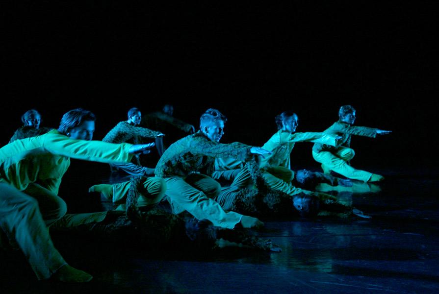 The Neon Loung | choreografie Nanine Linning (foto Hans Gerritsen)