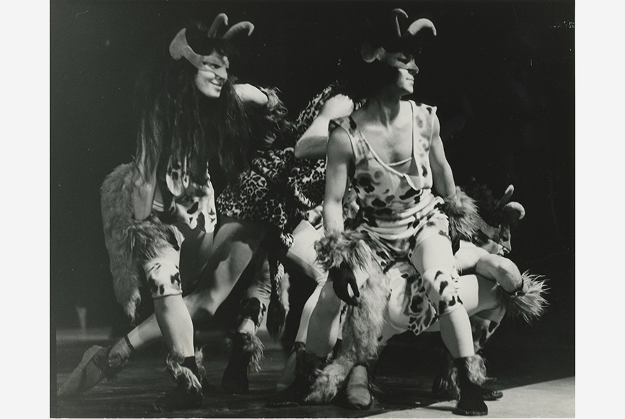 Oor om oor   choreografie Armando Navarro, Karel Poons, Dick van Dijk (foto Jac B. Rieder)