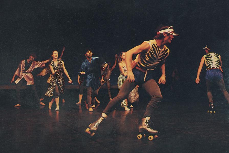 Op is op | choreografie Nils Christe (foto Jorge Fatauros)