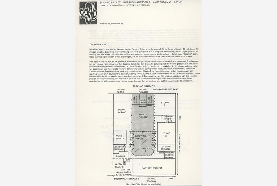 Plannen voor de verbouwing van het pand aan de Luchtvaartstraat