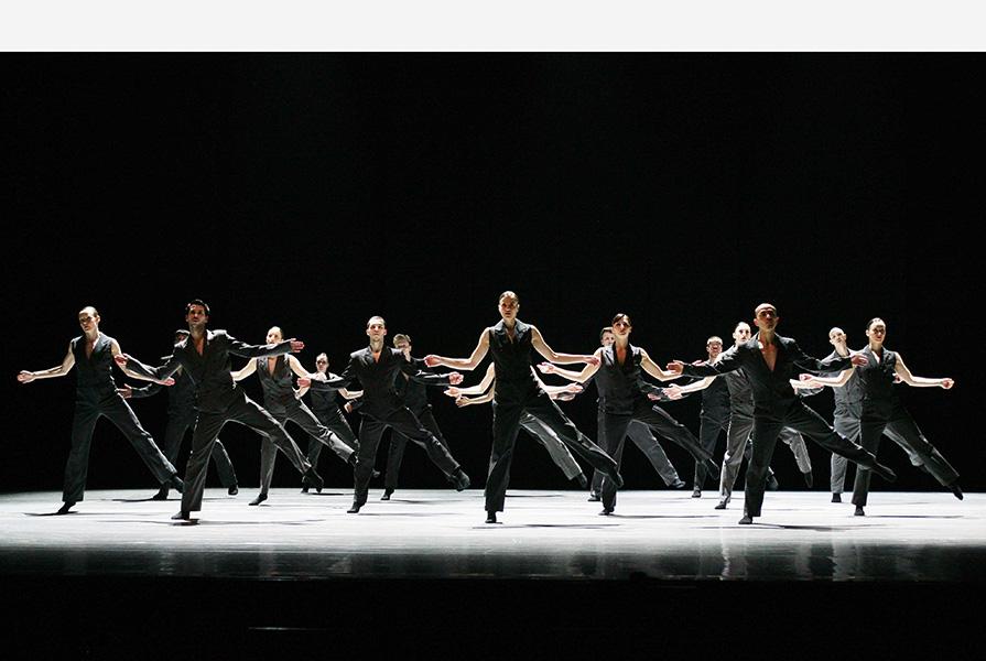 Songs for Drella   choreografie Marco Goecke & Ed Wubbe (foto Hans Gerritsen)