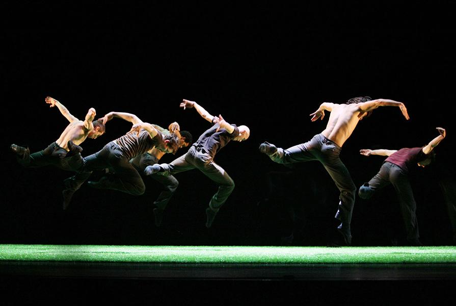 The Green | choreografie Ed Wubbe (foto Hans Gerritsen)