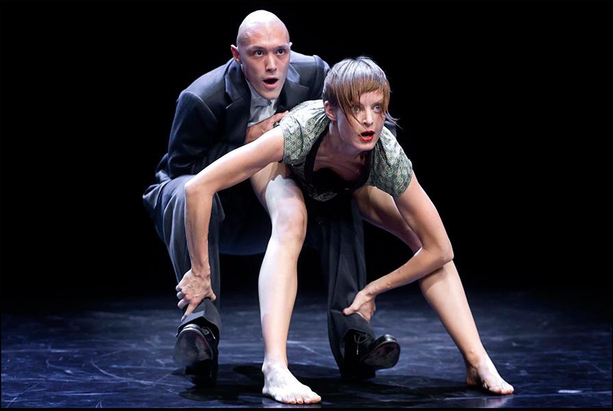 Tous les jours, a tous points de vue, on va de mieux en mieux | choreograaf Hans Tuerlings (foto Hans Gerritsen)